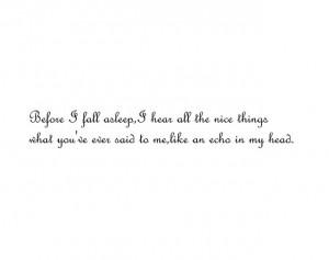 echo, emptiness, feeling, hurt, love, miss, silence, sleep, text ...