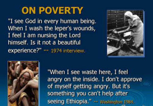 Excellent Quote by Mother Teresa