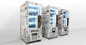 Vending machine verkoopt inspirerende quotes uit boeken