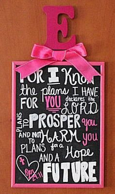 Bible verse, Jeremiah 29:11 For I know the plans I have for you ...