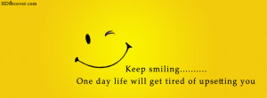 Smile Quotes Cover Photos For Facebook