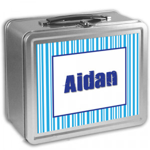 New Product Alert - Custom / Personalized Metal Lunch Boxes