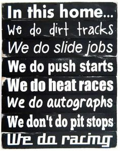 Racing quotes.
