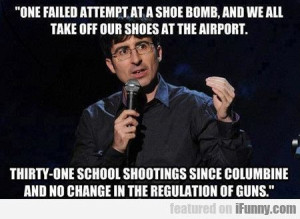 One Failed Attempt At A Shoe Bomb...