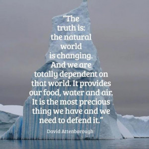 Quote by David Attenborough #greeningyourcity #greenquote # ...