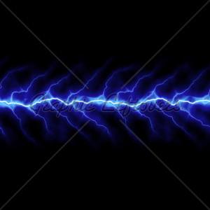 Lightning Bolt Business Cards