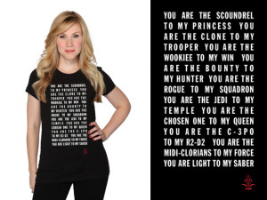 Geek Love: Quotes T-shirt for Valentine's Day
