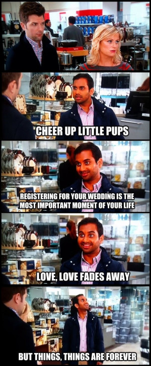Parks And Recreation Tom Haverford Quotes Tom haverford. parks and rec ...