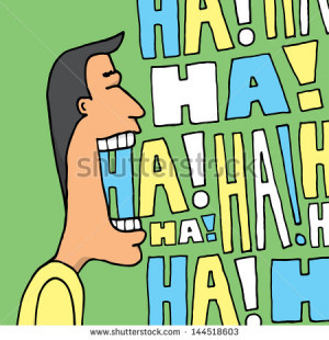 Laugh Stock Photos, Illustrations, and Vector Art