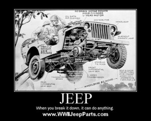 Real Jeeps have Round Headlights, Folding Windshields, and can tow a ...