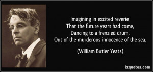 Imagining in excited reverie That the future years had come, Dancing ...