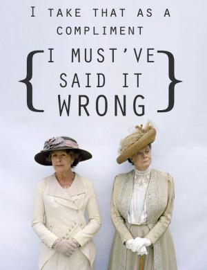 Downton Abbey Appreciation: Violet & Isobel