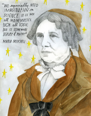 Astronomer Maria Mitchell (August 1, 1818 – June 28, 1889) was born ...