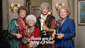 The Golden Girls Cast with Awards HD Wallpaper