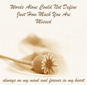 Condolences, Sympathy, In Loving Memory On Facebook