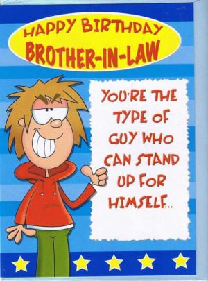 Funny Happy Birthday Message Brother Law Happy Birthday
