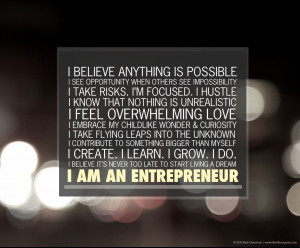 "Download the ""I am an entrepreneur"" desktop wallpaper (1024 x 768 ..."