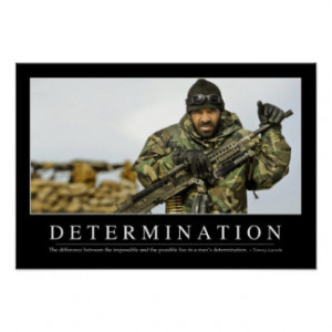 Determination Quotes Gifts