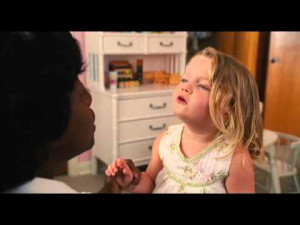 "The Help"" — Aibileen (played by Viola Davis) radiates love for Mae ..."
