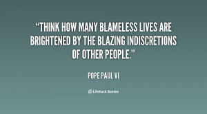 Pope Paul VI Quotes