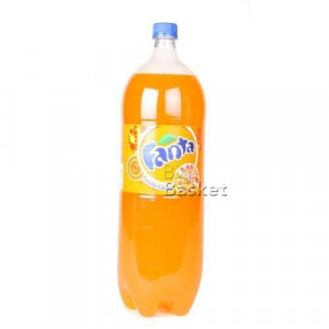 Fanta Orange Soda Bottle