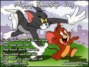 tom and jerry quotes on friendship