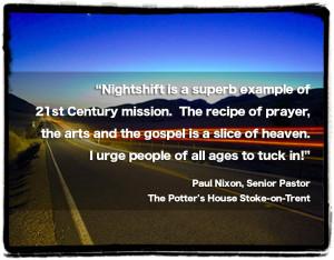 NIGHT SHIFT QUOTES