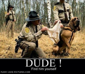 Funny Sniffer Hunting Dog Hound Underpants Picture Photo
