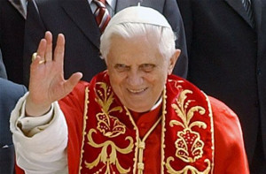 Pope Benedict XVI Says Goodbye to His Faithful Followers