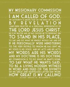 Definition of an LDS Missionary - Vinyl Wall Quotes & Lettering for ...