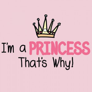 ... :: Kitchen Aprons :: Attitude Aprons I'm a Princess, That's Why