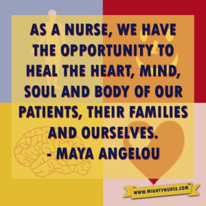 Nurses heal the heart. #RN #LPN #CNA #Nurses #Quotes