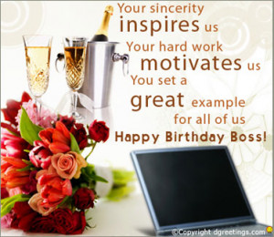... you that you are so admired and loved. Have a brilliant Boss's Day