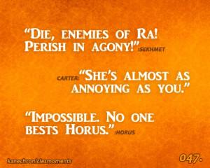 No one bests Horus ~ Kane Chronicles Moments HSHAHAHAHAHAHAHHAHAHAHA I ...