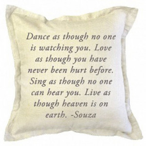 Pillows with Quotes