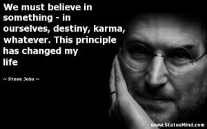 Buddha Quotes On Karma Destiny, karma, whatever.