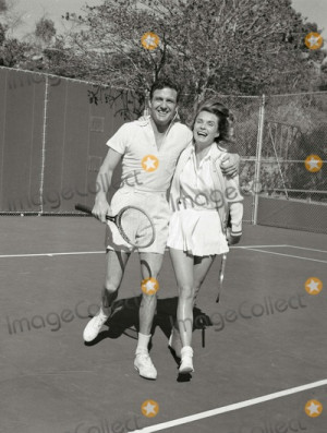 Robert Stack Picture Robert Stack and Wife Rosemarie at Home Photo