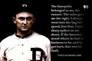 Ty Cobb quote