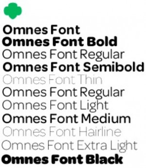 Girl Scout Omnes Font