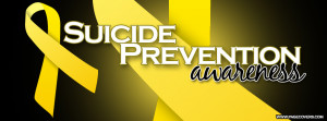 Suicide Prevention Awareness Cover Comments