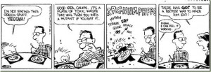 1985:45 Calvin and Hobbes – Toxic waste
