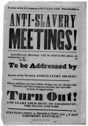 Anti-Slavery Meetings
