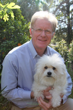 ... environmental and animal advocate, Ed Begley, Jr. with his dog, Bernie