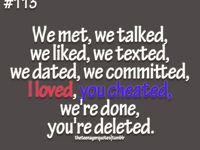 ... lying cheating ex boyfriends... Boyfriend-ly Nibbles&Noms Boyfriend-ly