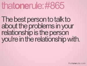 Relationship Problem Quotes