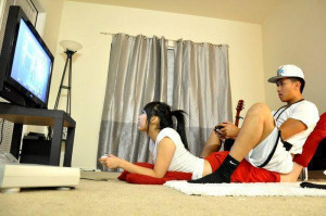 couple, cute, game, love
