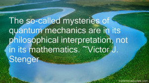 Victor J Stenger Quotes Pictures