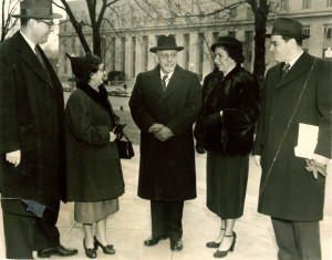 Du Bois, with Shirley Graham Du Bois (right) and other indicted ...