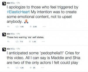 "... Undermine the Brilliant Performances in Sia's ""Elastic Heart"
