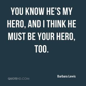 Your My Hero Quotes